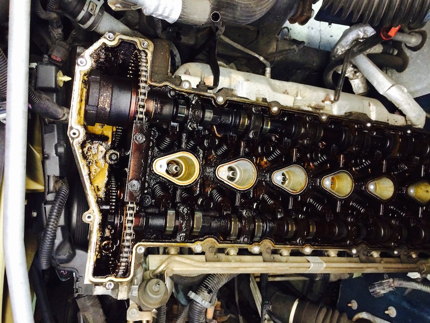 2003 Chevrolet Trailblazer Valve Cover Replacement