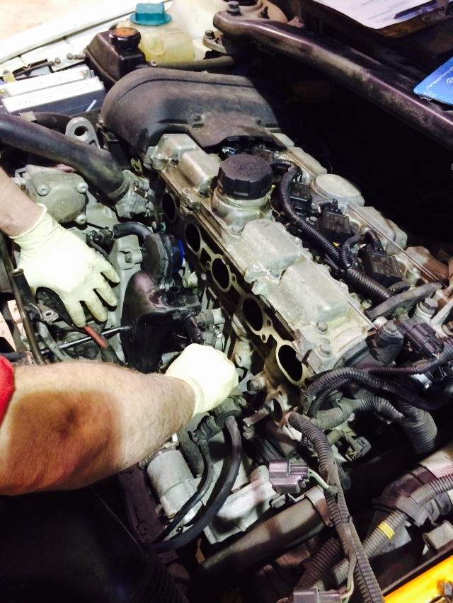 2005 Volvo Intake Manifold Removal